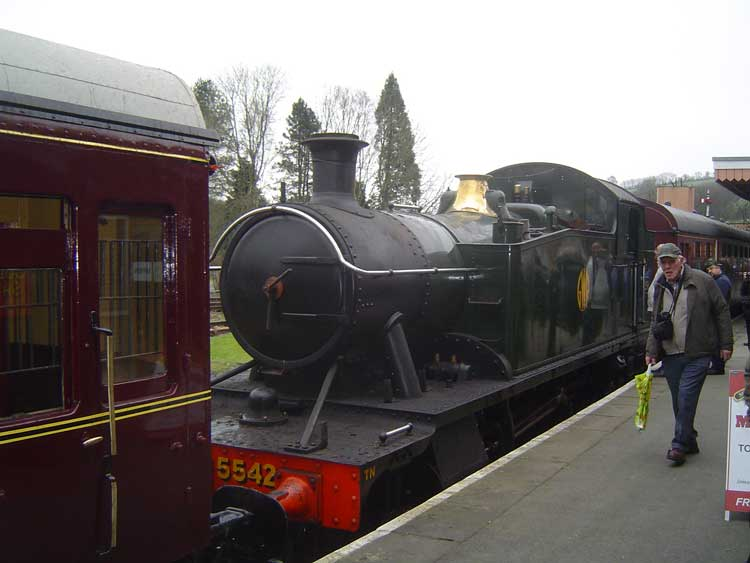 5542 at Buckfastleigh