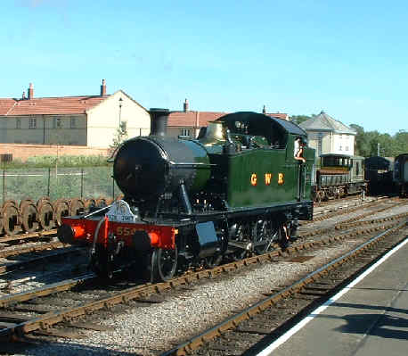 5542 at Minehead, West Somerset Railway